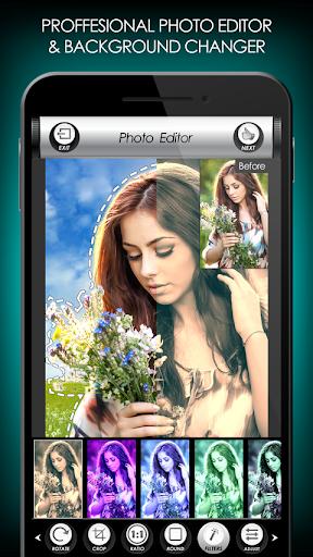 penyunting foto bunga: bingkai, pelekat & kolaj screenshot 2