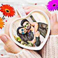 Coffee cup photo frames editor on 9Apps