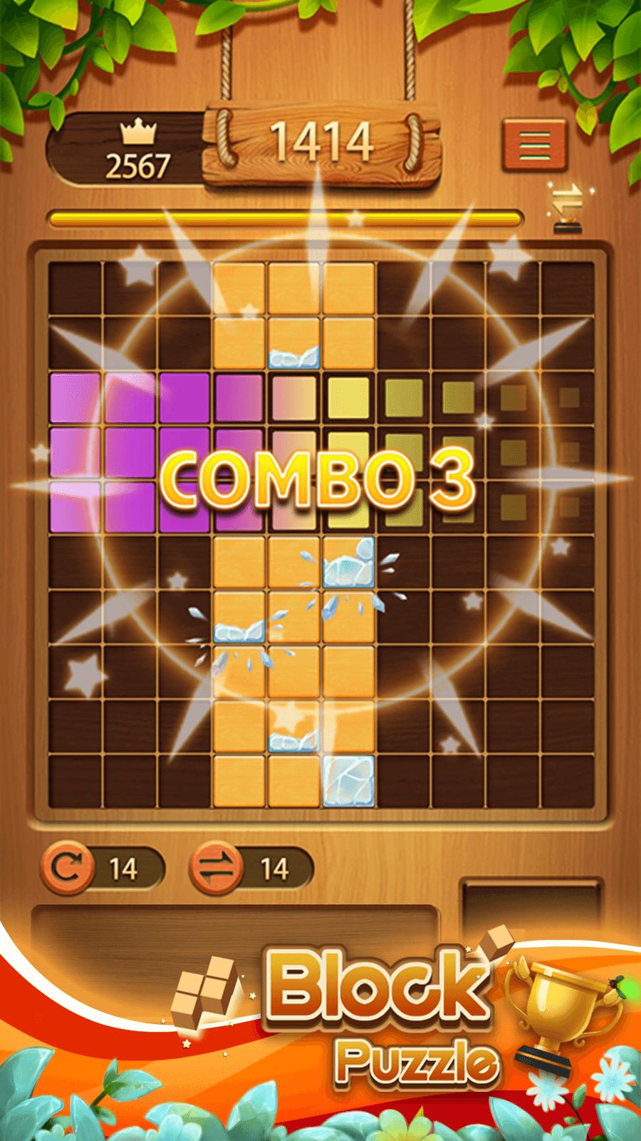 Classic Block Puzzle——Wood Block Puzzle Game screenshot 3