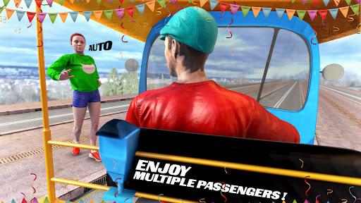 Tuk Tuk Auto Rickshaw Driving Simulator Games screenshot 5