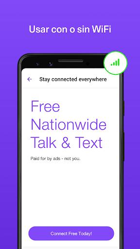 TextNow - Textos y Llamadas screenshot 2