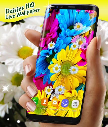 3D Daisy Live Wallpaper 🌼 Spring Field Themes screenshot 5