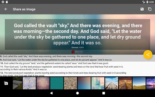 Bible Offline App Free   Audio, KJV, Daily Verse 10 تصوير الشاشة