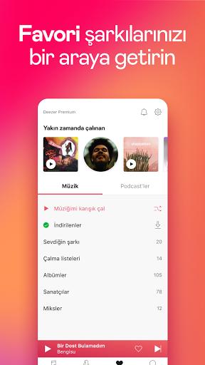 Deezer Müzik Çalar: Şarkı İndirme Programı screenshot 7