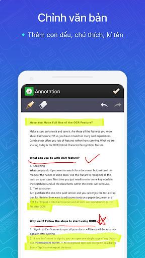CamScanner:máy quét ảnh, quét thành pdf, miễn phí screenshot 3