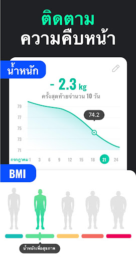 แอปลดน้ำหนักสำหรับผู้ชาย - ลดน้ำหนักใน 30 วัน screenshot 6