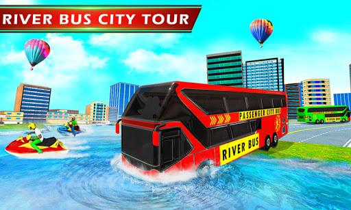 River Bus Driver Tourist Coach Bus Simulator screenshot 1