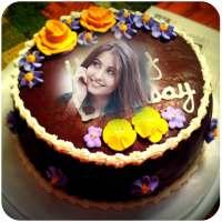 Birthday Cake Photo Frame on 9Apps