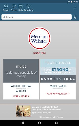 Dictionary - Merriam-Webster स्क्रीनशॉट 9