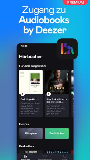 Deezer: Musik, Podcasts und Hörbücher hören screenshot 4