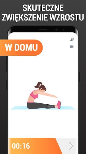 Wzrost Ćwiczenia w Domu - Ćwiczenia na Wzrost screenshot 4