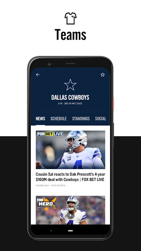 FOX Sports: Latest Stories, Scores & Events screenshot 6