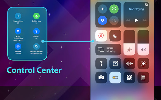 Phone 13 Launcher, OS 15 Launcher, Control Center screenshot 10