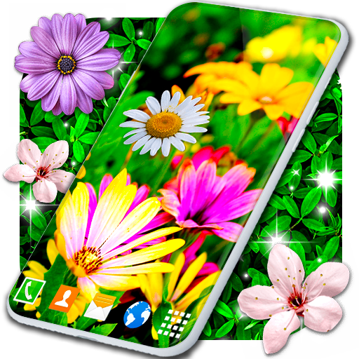 Spring Flowers Live Wallpaper 🌻 Summer Wallpapers icon