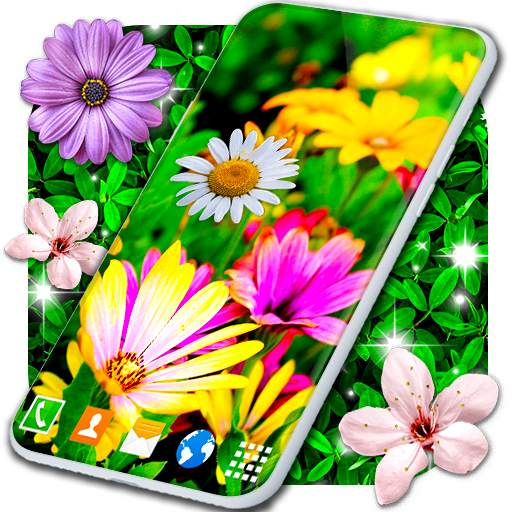 Spring Flowers Live Wallpaper 🌻 Summer Wallpapers