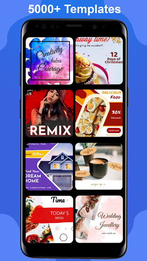 Poster Maker 2021 Video, ads, flyer, banner design screenshot 2