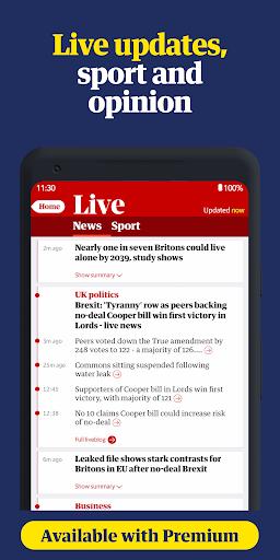 The Guardian - World news, Sport and Finance screenshot 3