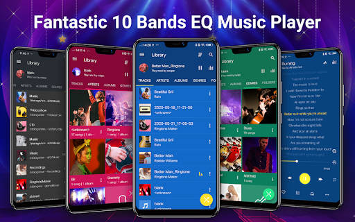 Reproductor de música -  MP3 y ecualizador de 10 screenshot 1