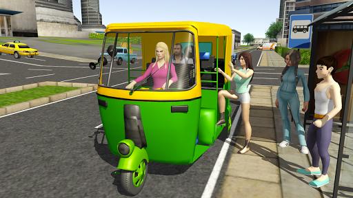 Tuk Tuk Rickshaw City Driving Simulator 2020 screenshot 1