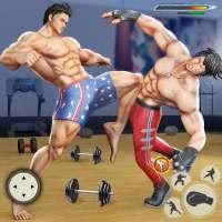 GYM Fighting Games: Bodybuilder Trainer Fight PRO on 9Apps