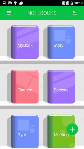 Notebooks screenshot 1