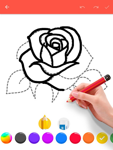 How To Draw Flowers screenshot 10