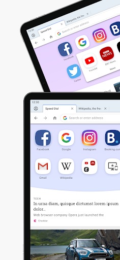 เบราว์เซอร์ Opera ที่มี VPN ฟรี screenshot 6