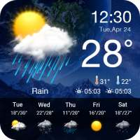 Live Weather Forecast App on 9Apps