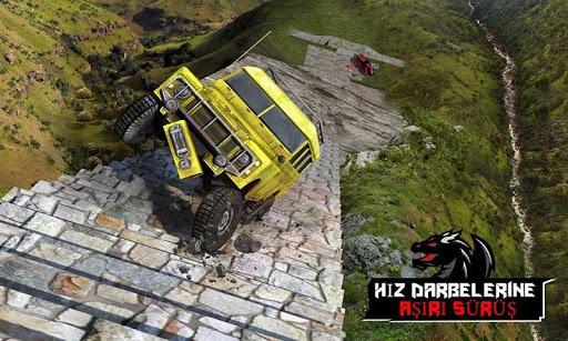 Ejderha Yol Sürme Simülatör: hız araba kaza Ölçek screenshot 3