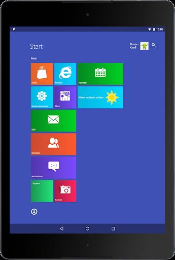 Metro UI Launcher 10 screenshot 4
