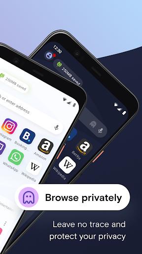 Opera Mini browser beta screenshot 2