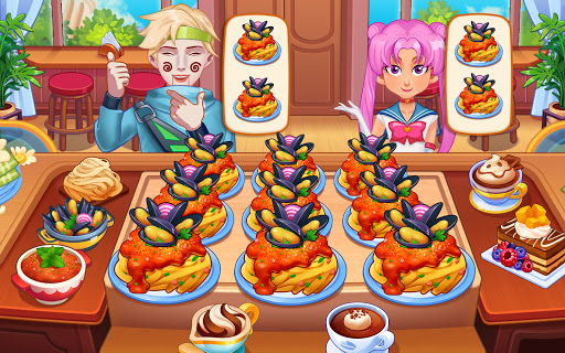 Мастер кулинарии: кулинарная игра Fever Chef скриншот 11