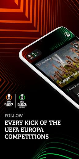 Europa: official football app screenshot 1