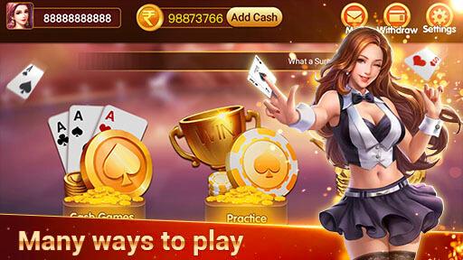 Classic Card Game- Play 3patti Online in Khelo screenshot 1