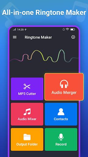 Ringtone Maker MP3 Editor screenshot 1