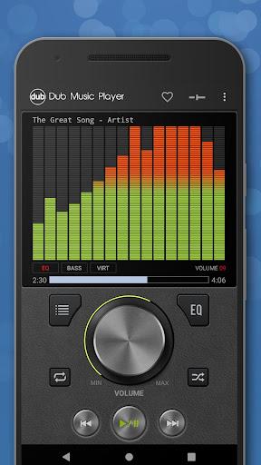 Dub-Musik-Player - Equalizer & Überblendung screenshot 1