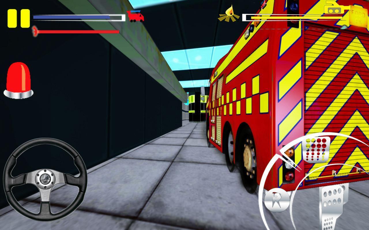 Firefighter-Fire Brigade Truck скриншот 7