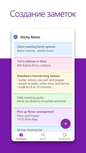Microsoft OneNote: упорядоченные идеи и заметки скриншот 2