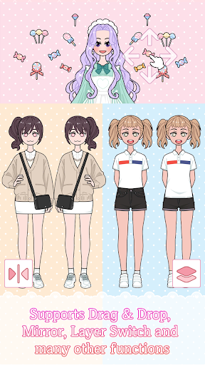 Lily Diary : Dress Up Game screenshot 2
