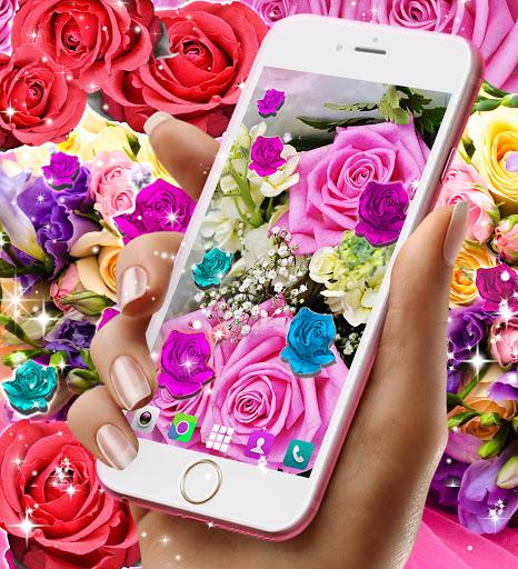 Best rose live wallpaper 2021 screenshot 7