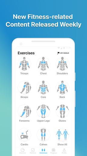 JEFIT Workout Tracker, Weight Lifting, Gym Log App screenshot 6