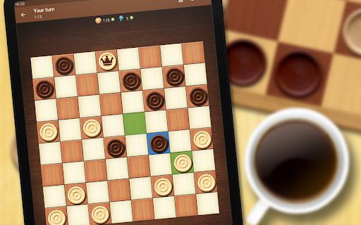 Checkers - strategy board game screenshot 9
