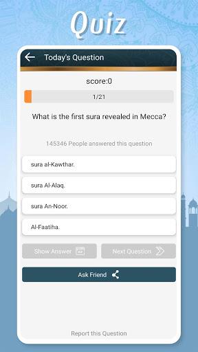 Muslim Pocket - Prayer Times, Azan, Quran & Qibla screenshot 8