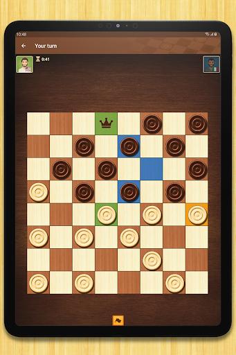 Checkers - strategy board game screenshot 11