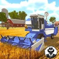 Organic Tractor Farming SIM: Mega Harvesting on 9Apps