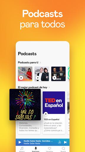 Deezer: música, playlists y podcasts screenshot 7