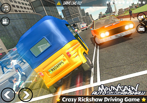 Mountain Auto Tuk Tuk Rickshaw:新しいゲーム2021 screenshot 7