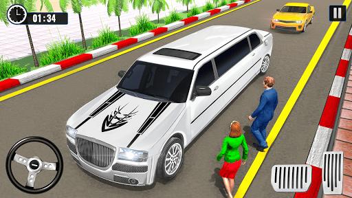 Big City Limo Car Driving Taxi Games screenshot 1