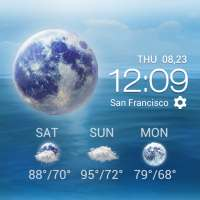 Daily&Hourly weather forecast on 9Apps