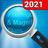 Magnifying Glass   Flashlight on 9Apps